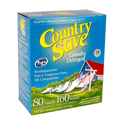 Country Save He Laundry Detergent  Powder  160 Load  10 Lb Boxes  Pack Of 4