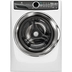 Electrolux EFLS517SIW 27' Energy Star Front-Load Washer with 4.3 cu.ft. Capacity. Perfect Steam LuxCare Wash System Sanitize Option and StainTreat: Island