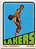 1972/73 Topps Gail Goodrich Card #50 Los Angeles Lakers UCLA