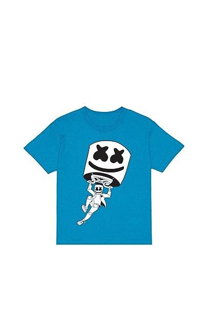 Amazon.com: Marshmello x Fornite Youth Tee - Camiseta de ...