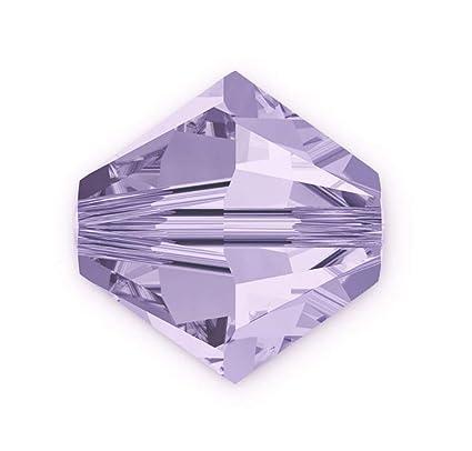 cd9818a83 Amazon.com: 100pcs 3mm Adabele Austrian Bicone Crystal Beads Light Violet  Compatible with Swarovski Crystals Preciosa 5301/5328 SSB304: Everything  Else