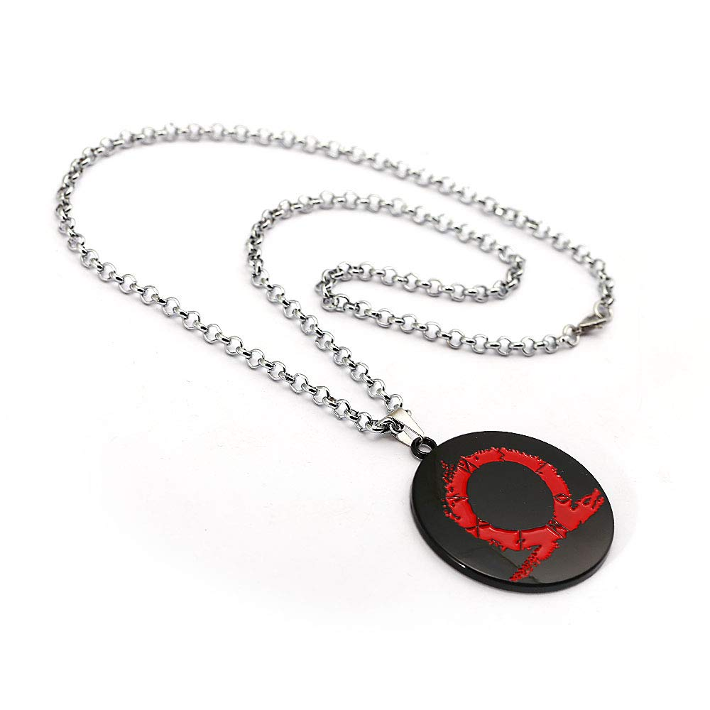 Amazon.com: Mct12 - Game God Of War Pendant Necklace Metal ...