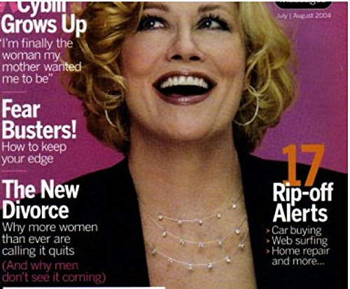 Cybill Shepherd Cover AARP The Magazine July/August for sale  Delivered anywhere in USA