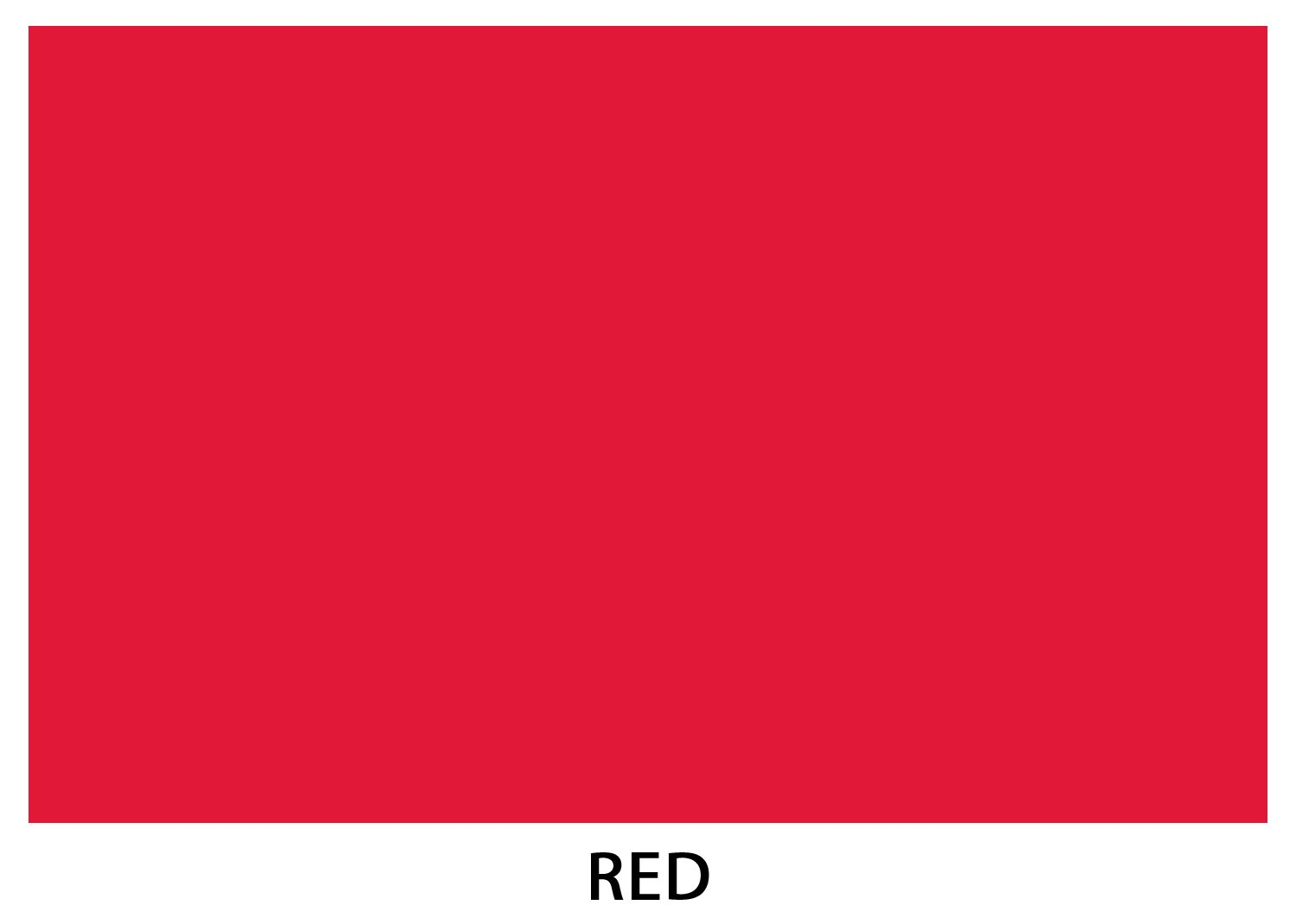 Red Mohawk Britehue Bright Color Card Stock Paper, 11''x 17'', (50 Sheets Per Pack)