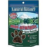 Natural Balance Mini-Rewards Semi-Moist Dog Treats - Lamb Formula - 4oz by Natural Balance