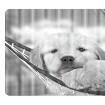 Fellowes Recycled Optical Mouse Pad - Puppy In Hammock Multi