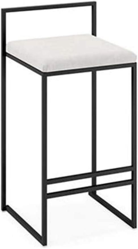 Respaldo Estructura de metal de taburete alto, barra creativa de ...