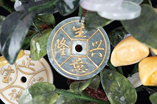 Vintage Chinese Carved Jade & Semi Precious Stone Shohin Bonsai Tree # 104 by Calibonsai (Image #7)
