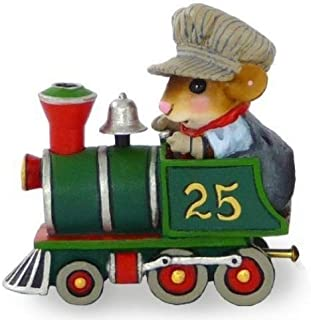product image for Wee Forest Folk M-453 Christmas Train Engine Wonderland Express