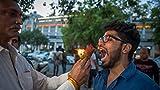 New Delhi Street Food Stall Serves Snacks On Fire