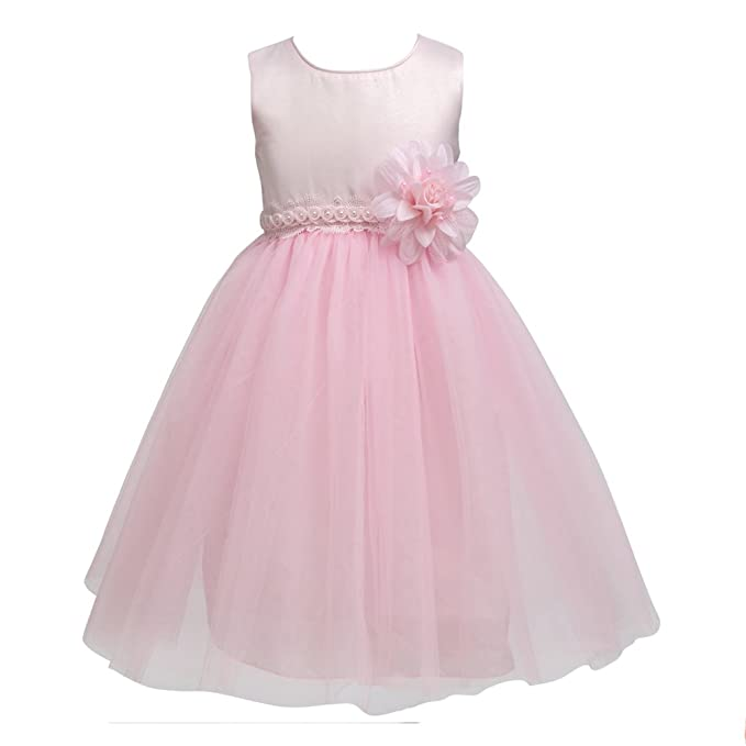 Amazon.com: Merry Day Flower Little Girl Party Dress Girls Elegant ...