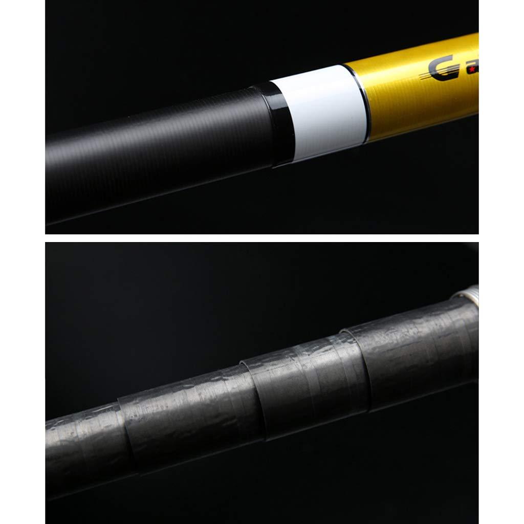 gr/ö/ße : 8m Teleskop-Carbon-Angelrute 8-16 Meter hart Rod Langer Abschnitt Superharte Fangger/äte Langstrecken Gro/ße Fische