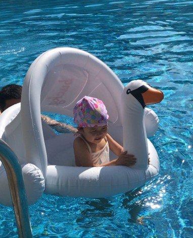 Amazon.com: DEBRIS TIME - Anillo de natación para niños ...