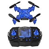 DROCON Scouter Foldable Mini RC drone with Altitude Hold Mode, One Key Take off Landing, 3D Flips and Headless Mode Easy Fly Steady for Beginners