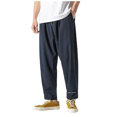 Pantalones Hombre Moda Pop Casual Tallas Grandes Chándal de ...