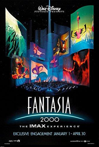 FANTASIA 2000 MOVIE POSTER 2 Sided ORIGINAL 27x40 DISNEY