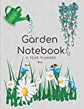 #7: Garden Notebook 5 Year Planner: Repeat Successes And Learn From Mistakes With Complete Personal Garden Records. 5 Year Planner With Adaptable Year Round Forms