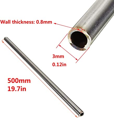 SZQL 304 Stainless Steel Capillary Tube with Corrosion Resistance for DIY Decoration and Industry,Tube Wall Thickness,0.8mm