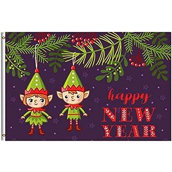 Amazon.com : Merry Christmas Flag 4x6 FT Happy Winter ...