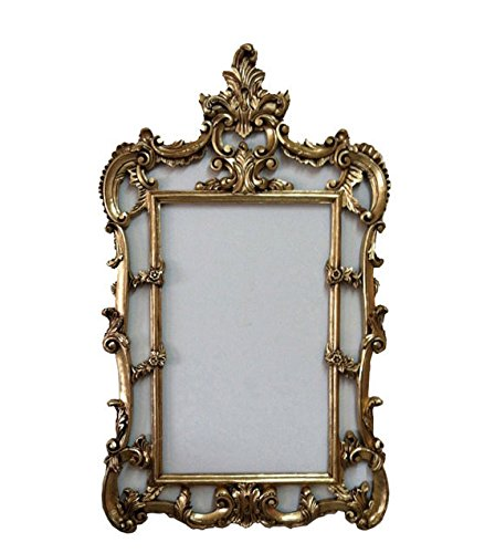 Amazon.com - Large Vintage Gold Shabby Chic Mirror Frame, French ...
