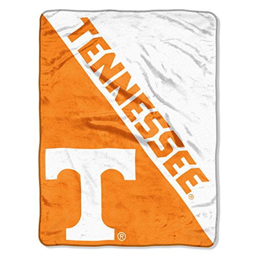 The Northwest Company Officially Licensed NCAA Tennessee Volunteers Halftone Micro Raschel Throw Blanket, 46
