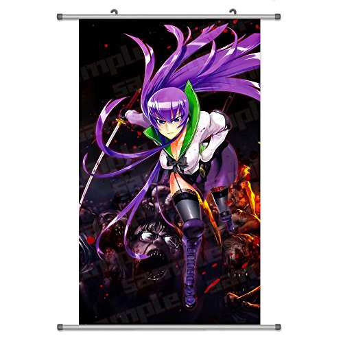 A Wide Variety of Highschool of the Dead Anime Wall Scroll H