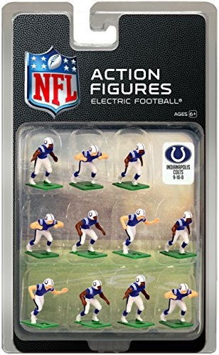 Indianapolis Colts Home Jersey NFL Action Figure (Football Home Game)