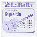 LaBella BX7 Stainless Steel Acoustic Guitar Strings, Medium