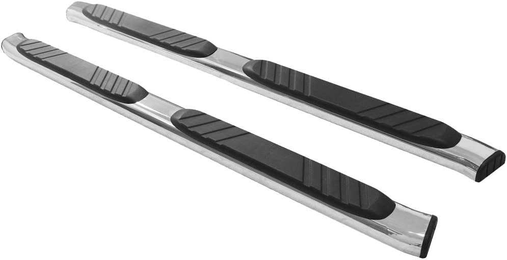 Running Boards Compatible With 2004-2014 Ford F150 Extended Cab 4Dr 2005 2006 2007 2008 2009 2010 2011 2012 2013 Oval Factory Style Side Step Bar by IKON MOTORSPORTS