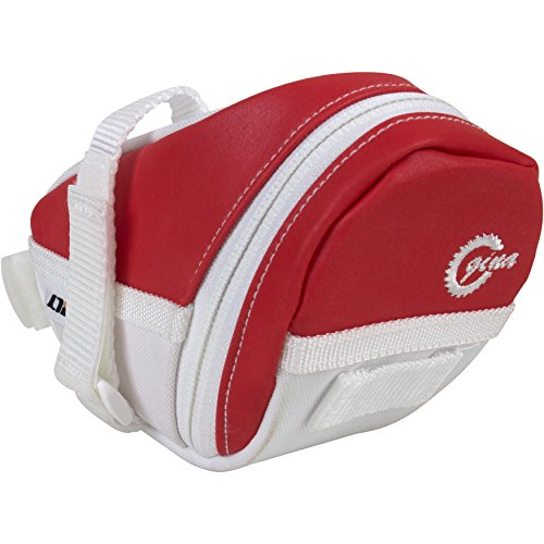 LTG Fahrra-Satteltasche, Fahrradtasche Handytashce, Cycling Outdoor Bicycle, Seat Pack Pouch, Saddle Bag (Rot)