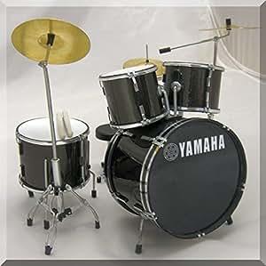 yamaha miniature mini drum set drumset for