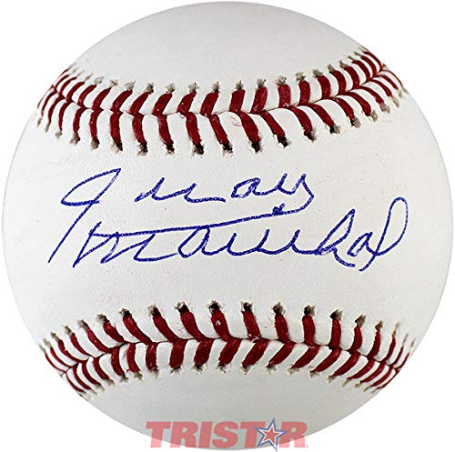 (Juan Marichal Signed Autographed ML Baseball TRISTAR COA)