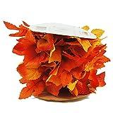 Autumn Maple Mini Fall Foliage Garland Roll