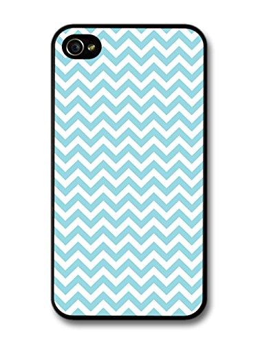 Chevron Pattern iPhone Case 4 4s Light Blue
