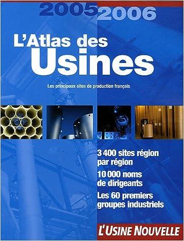 Livre gratuits L'Atlas des usines pdf, epub