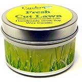 Fresh Cut Lawn 4oz, Super Scented Soy Candle Tin