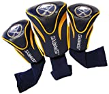 Team Golf NHL Buffalo Sabres Contour Golf Club Headcovers (3 Count), Numbered 1