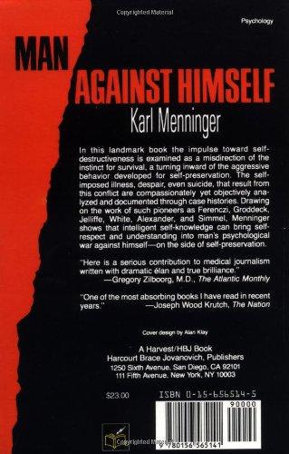 Man Against Himself Karl Menninger Pdf