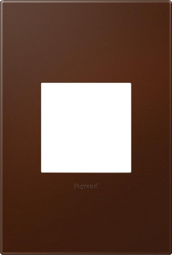 adorne Soft Touch Russet 1-Gang Wall Plate