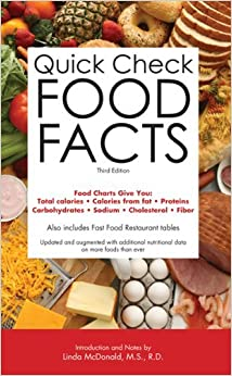 Quick Check Food Facts by Barron's Editorial Staff (2012-02-01)