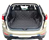 GoLoveFun Dog Cargo Liner for SUV / Non Slip Heavy Duty Canine Cargo Cover for Any Animal (Black,S)