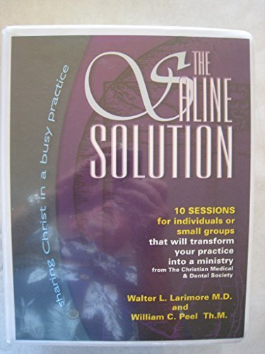 Saline Solution Video Series by Walter L. Larimore (1999-12-03)