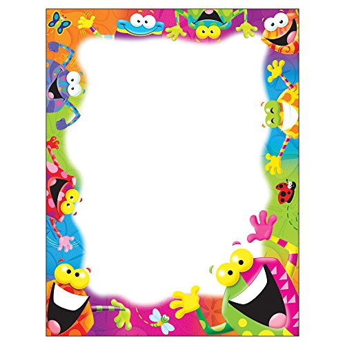 Trend Enterprises Inc T-11401 Frog-tastic! Terrific Papers, 50 ct by Trend Enterprises Inc