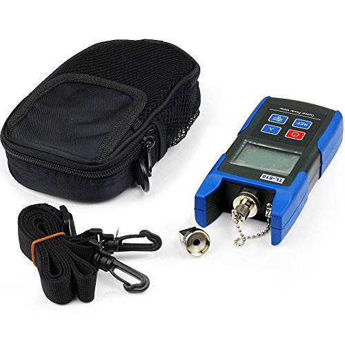 J-Deal TL510C Hand-held Optical Power Meter + TL532 20mW Visual Fault Locator Fiber Optic Cable Tester Meter for CATV CCTV Telecommunications Engineering Maintenance Cabling System by J-Deal (Image #3)
