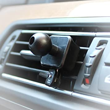 AutoScheich® Soporte de ventilación para GPS Garmin Essential Nüvi Zumo Dezl Street Pilot 17 mm Rótula: Amazon.es: Coche y moto