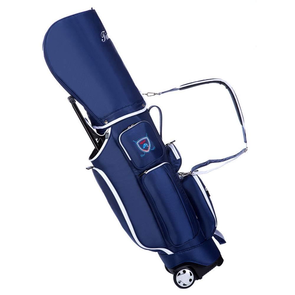 ゴルフカートバッグ 軽量のゴルフ立場袋の大きい車輪が付いている防水ゴルフキャリーバッグの大容量のゴルフクラブバッグ スポーツファンゴルフ用品 (色 : C2, サイズ : 128*25*40cm) B07SPVSKQG C2 128*25*40cm