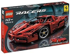 Amazon Com Lego Racers Enzo Ferrari 1 10 Scale Toys Amp Games