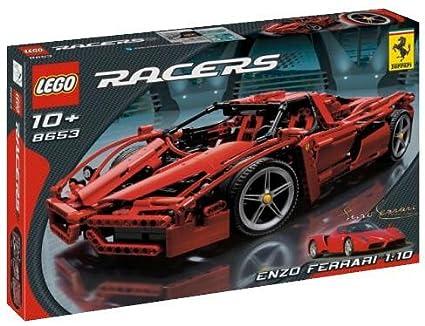Amazoncom Lego Racers Enzo Ferrari 110 Scale Toys Games