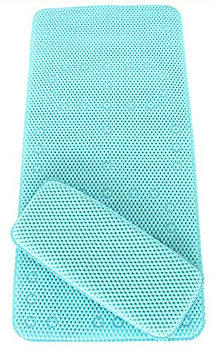 BBCare® Non-slip&Extra Large Bath Mat with Soft Kneeler(Bath pillow) by Bbcare