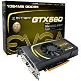 EVGA GeForce GTX 560 Superclocked 1024 MB GDDR5 PCI Express 2.0 2DVI/Mini-HDMI SLI Ready Graphics Card, 01G-P3-1461-KR